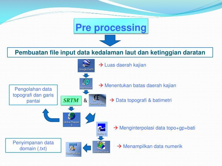Pre processing