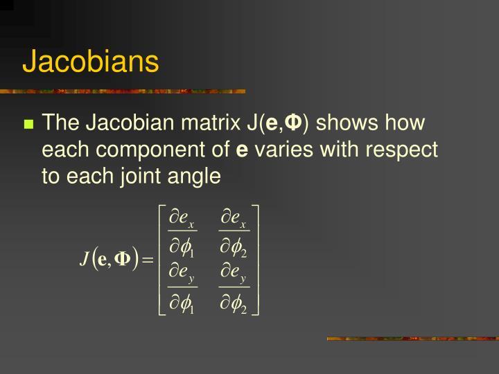 Jacobians