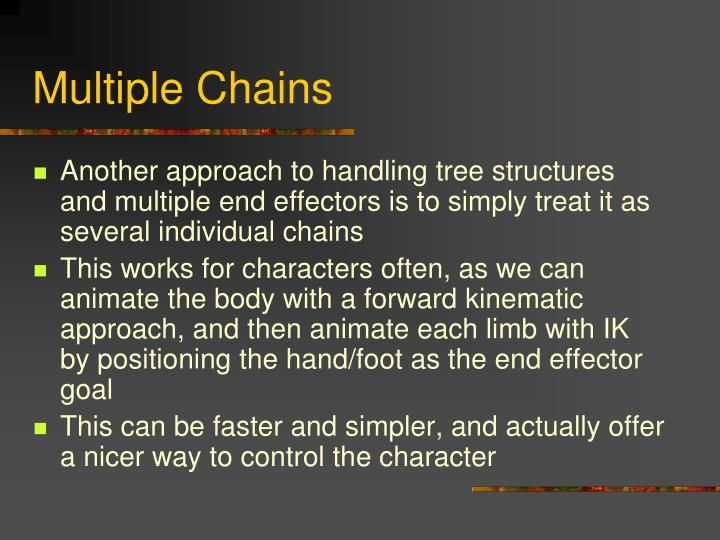 Multiple Chains