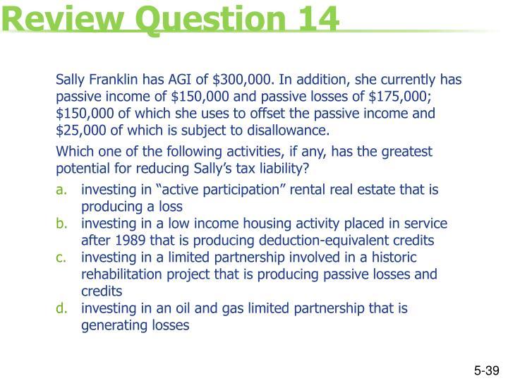 Review Question 14