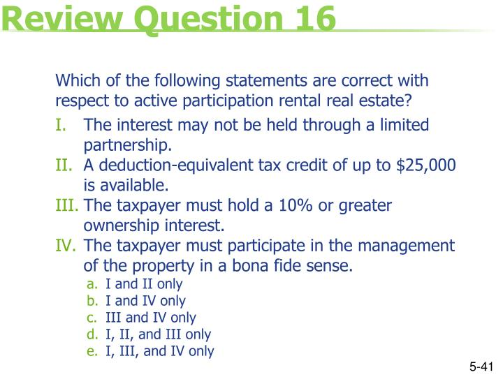 Review Question 16
