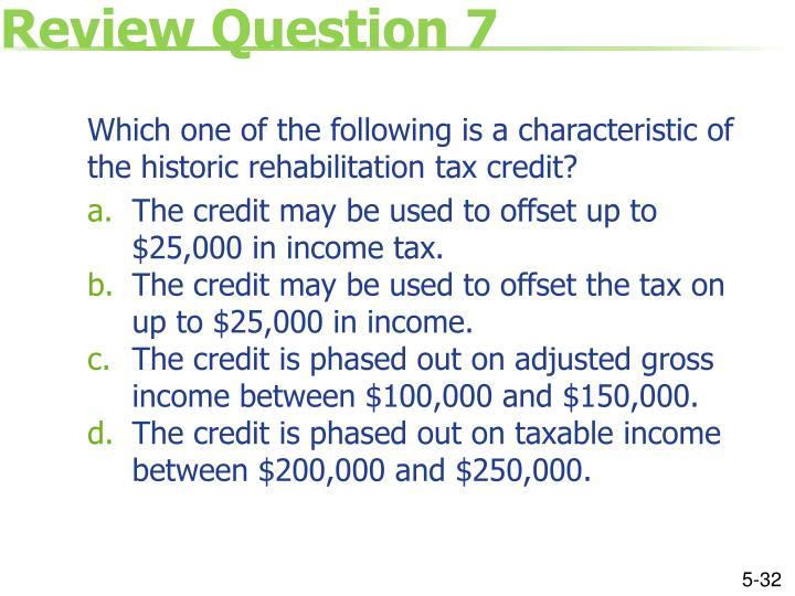 Review Question 7