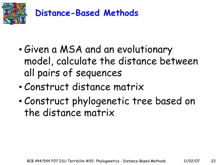 Distance-Based Methods