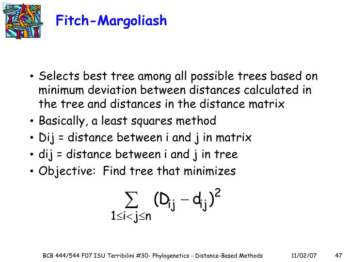 Fitch-Margoliash