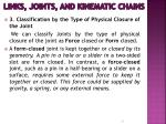 links joints and kinematic chains8