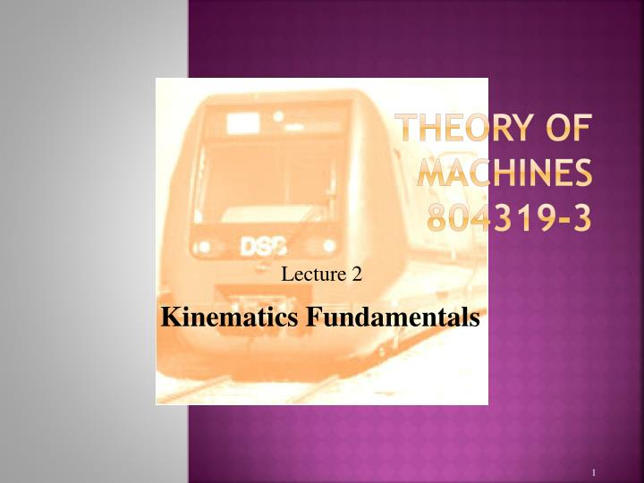 Theory of machines 804319 3
