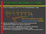 thermometer coded csdacs tc csdacs