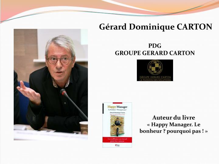 Gérard Dominique CARTON
