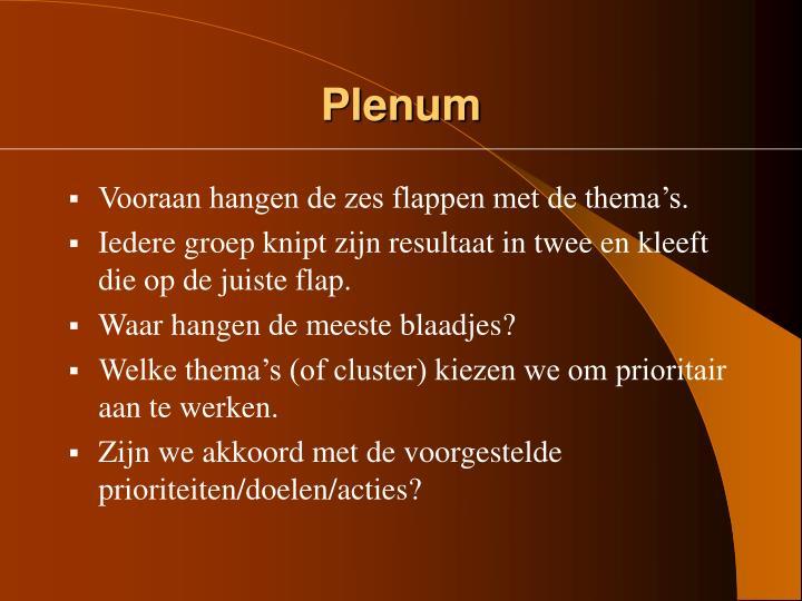 Plenum