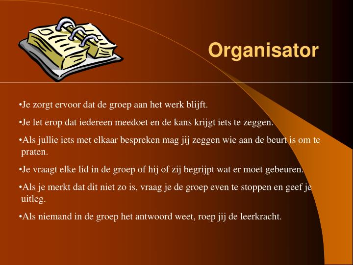 Organisator