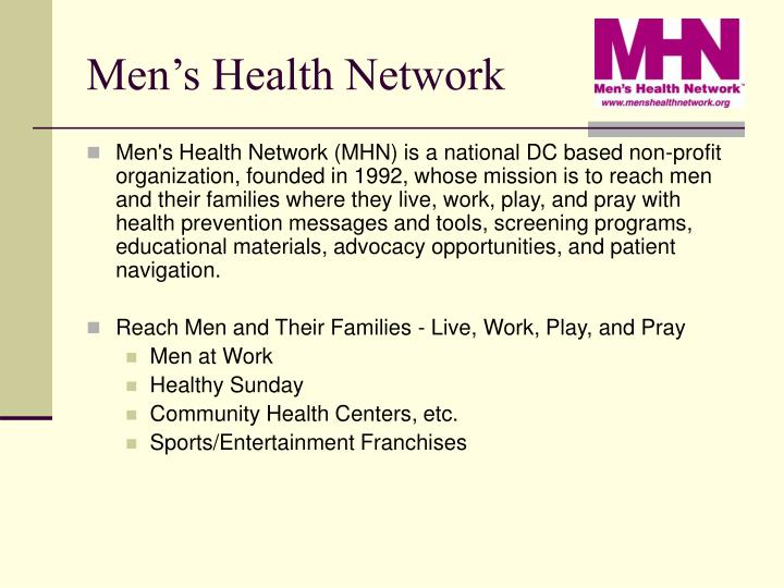 Men s health network