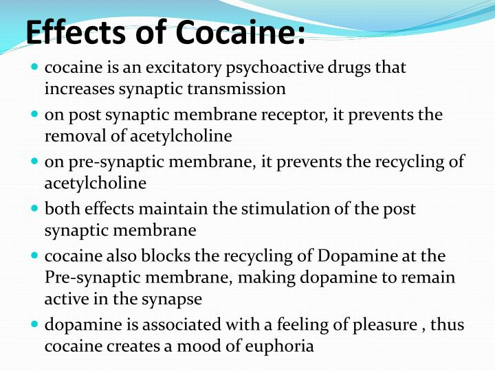 Effects of Cocaine:
