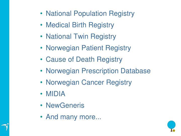 National Population Registry