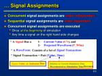 signal assignments1