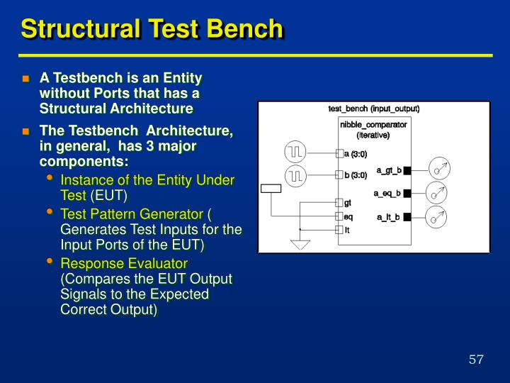 Structural Test Bench