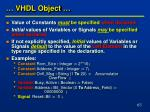 vhdl object1