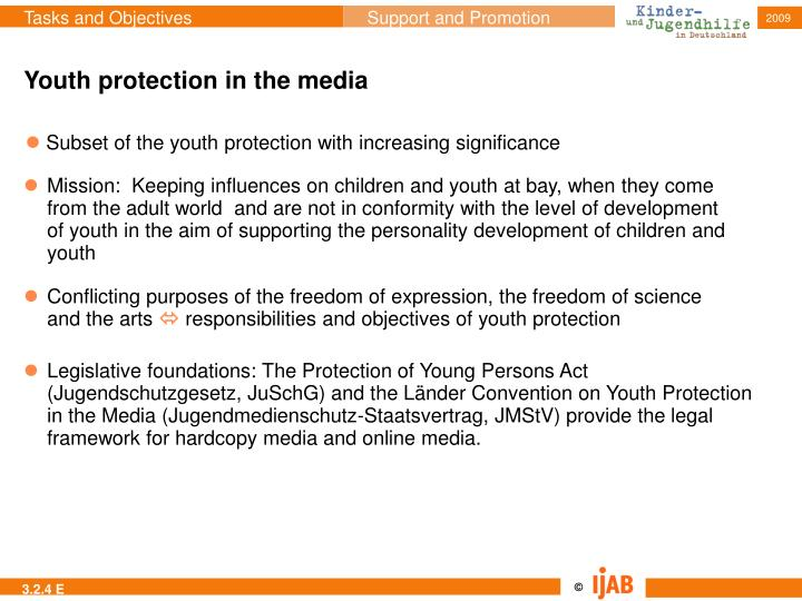 Youth protection in the media