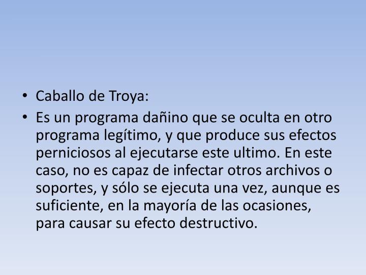 Caballo de Troya: