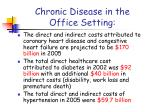 chronic disease in the office setting1