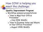 how ccnv is helping you meet the challenge5