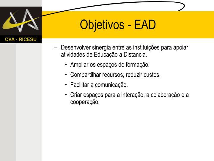 Objetivos - EAD