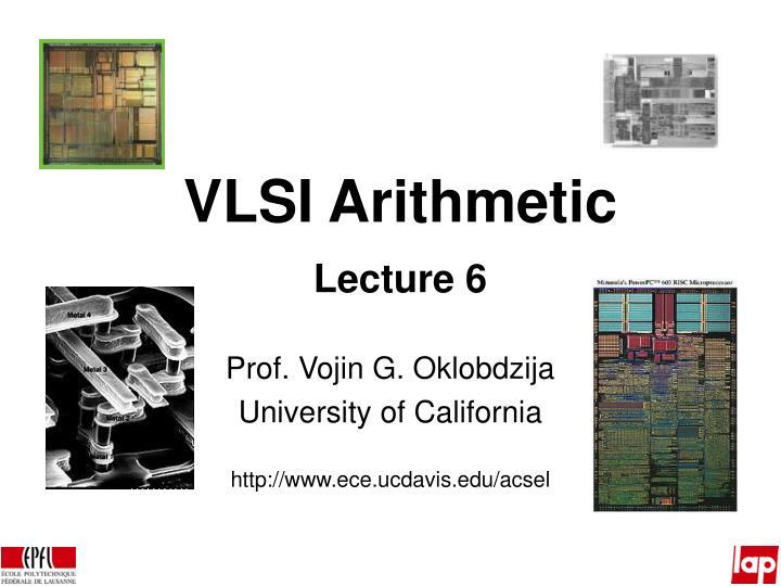 VLSI Arithmetic