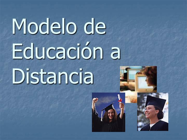 Modelo de Educación a Distancia