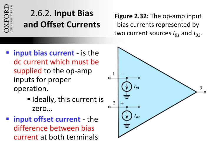 input bias current