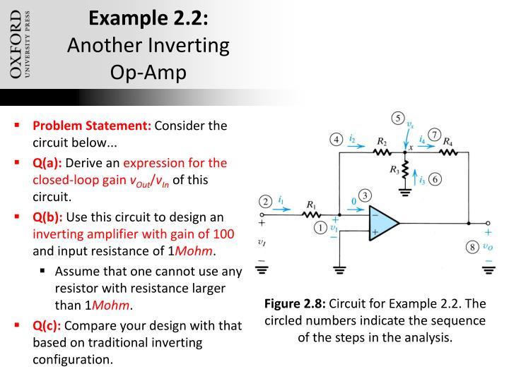 Example 2.2: