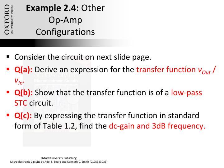 Example 2.4: