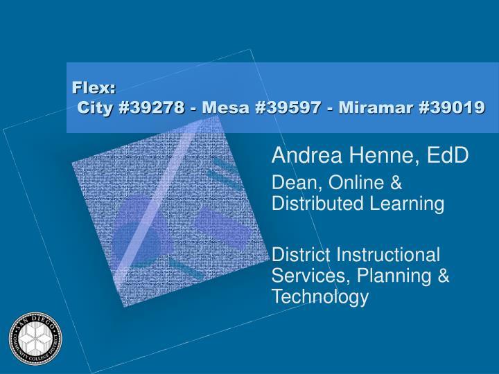 Flex: