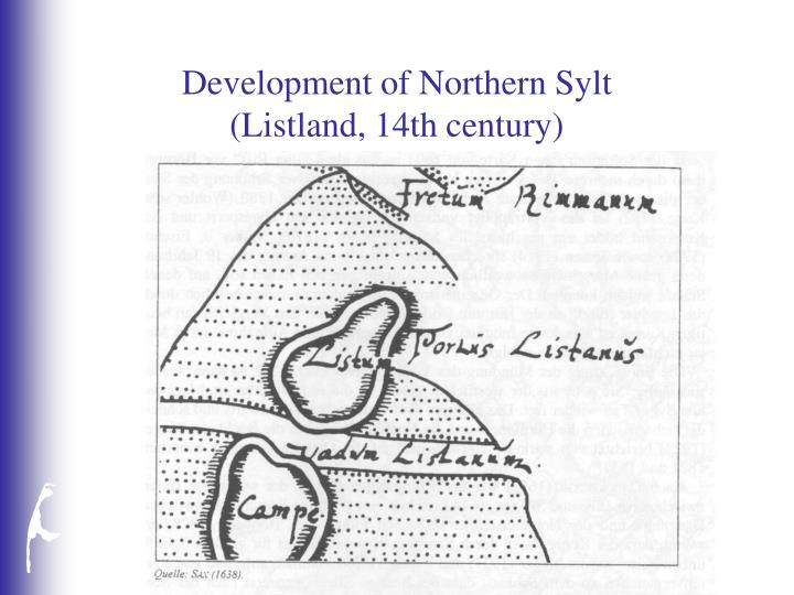 Development of Northern Sylt
