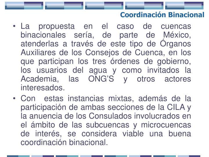 Coordinación Binacional