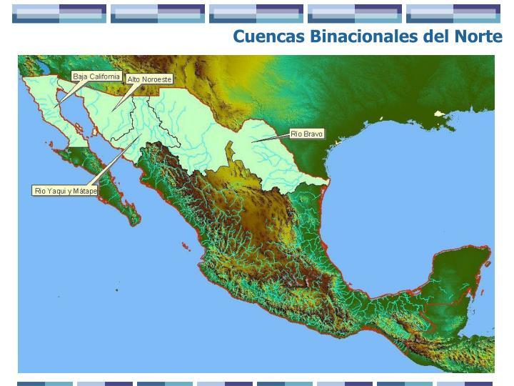 Cuencas Binacionales del Norte