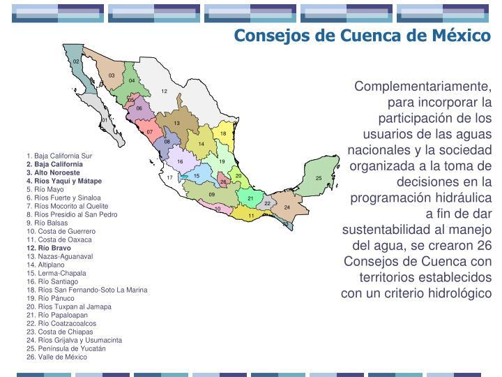 Consejos de Cuenca de México