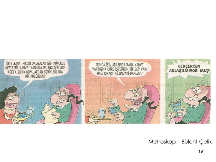 Metroskop – Bülent Çelik