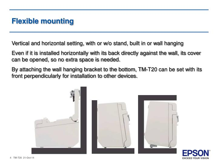 Flexible mounting