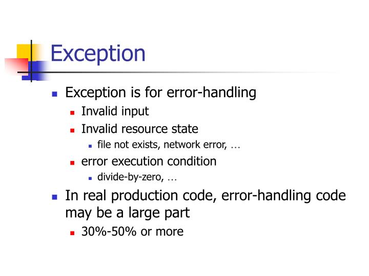 Exception1
