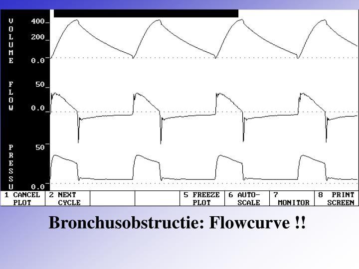Bronchusobstructie: Flowcurve !!