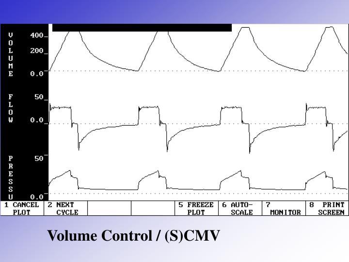 Volume Control / (S)CMV