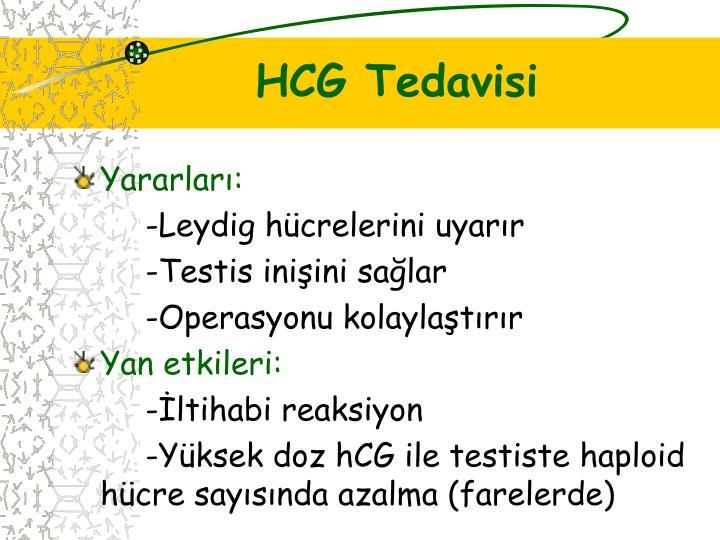 HCG Tedavisi