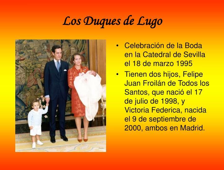 Los Duques de Lugo