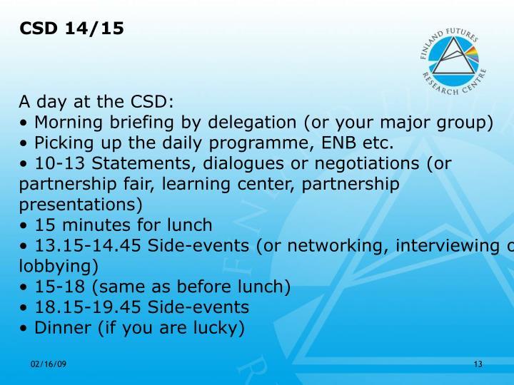 CSD 14/15