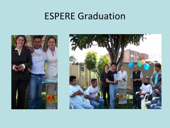 ESPERE Graduation
