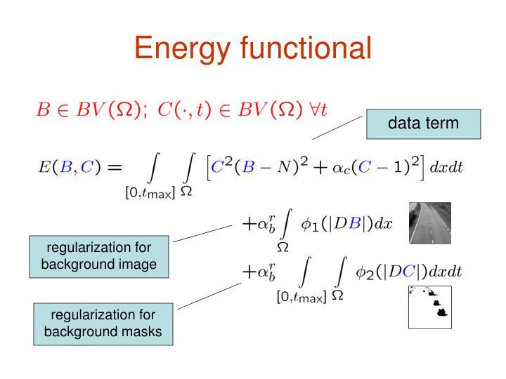 Energy functional