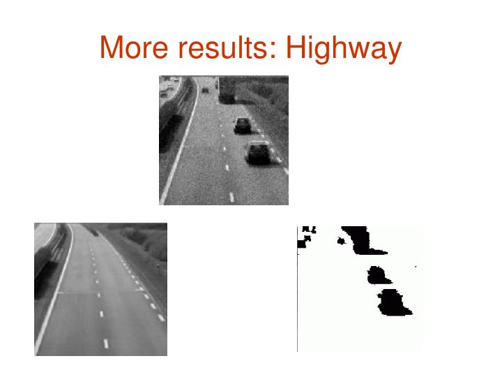 More results: Highway