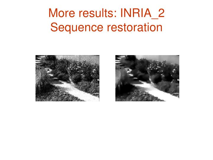 More results: INRIA_2