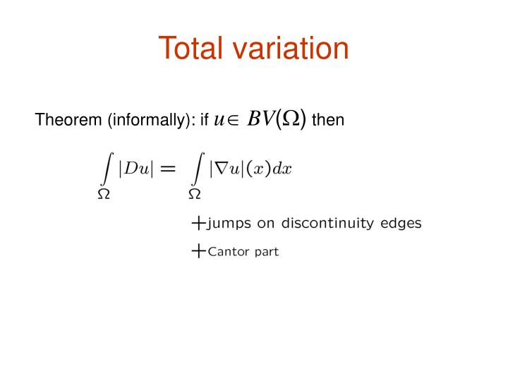 Total variation