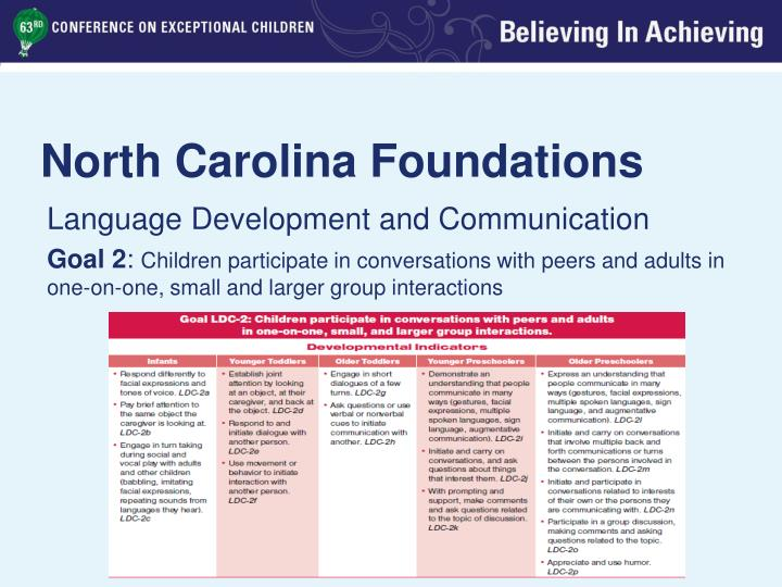 North Carolina Foundations