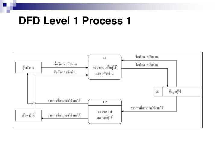 DFD Level 1 Process 1